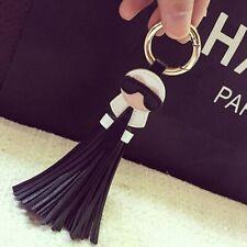 Karl Lagerfeld Taschenanhänger Schlüsselanhänger Quaste Tasche Kunstleder