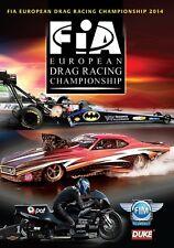 FIA European Drag Racing Championship Review 2014 (New DVD) Nataas Alund King