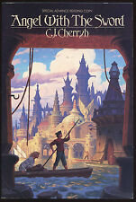 Fiction: ANGEL WITH THE SWORD by C J Cherryh. 1985. Signed ARC