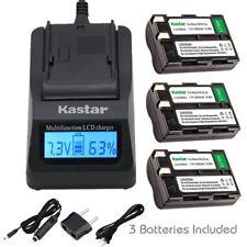 Kastar EN-EL3A Battery & Ultra Fast Charger for Nikon D50 D70 D70s D100