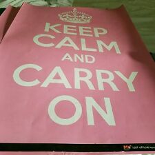 BRITISH- KEEP CALM AND CARRY ON poster