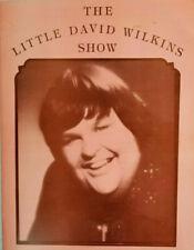 The Little David Wilkins Show Vintage Promo Photo Program Souvenir Rare