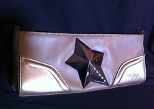 POCHETTE - SAC A MAIN - THIERRY MUGLER BEIGE CREME - Crossbody BAG Wallet