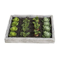 Vivid Arts Miniature World Vegetable Garden Enchanted Fairies Collectable Scaled