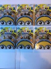 SET OF 6 DISPICABLE ME MINEEZ - FREE SHIPPING