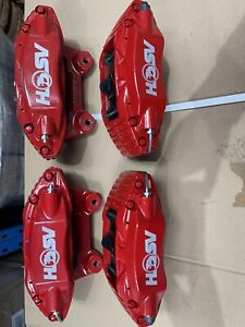 HSV VE 4 Piston AP Racing Brakes Front And Rear