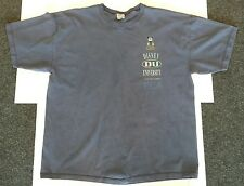 DU DISNEY UNIVERSITY Vintage T-Shirt XL; blue, mickey mouse