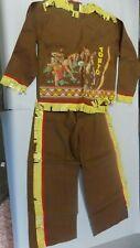 Vintage Lone Ranger Hi Ho Silver Tonto Indian Childs Costume (CT)
