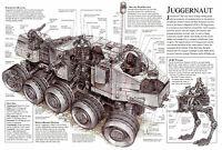 Framed Print - Star Wars Schematic Juggernaut (Picture Poster Yoda Darth Vader)