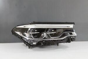 2017-2020 BMW 5 Series Right RH Passenger Adaptive LED Headlight OEM 17 18 19 20