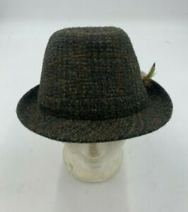 Men's Dunn & Co Harris Tweed Hat Size 58 Used Good Condition (R2)(A)