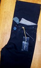 Jeans Black Stretch Low Marlow Misses size 24 x 33 New
