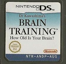 NINTENDO DS BRAIN TRAINING GAME CARTRIDGE ONLY