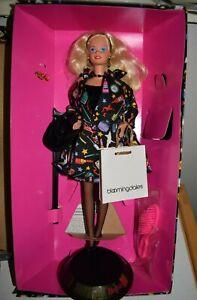 Barbie Doll 1994 Mattel Savvy Shopper12152 Bloomingdale's Nicole Miller NIB