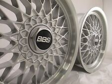BBS MESH WHEEL 16X7.5 5X112 OFFSET +23 SIL/MACH WHEELS TEST FITTED NEW SET OF 4