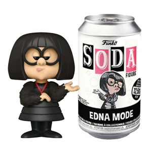 The Incredibles Edna Mode Vinyl Soda Figure [1/6 Chance of Chase]