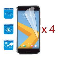 4 X Protector protector Film Lámina Cubierta de pantalla para HTC 10 Frontal LCD Protector