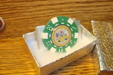 "Department Of The ARMY design Aluminum Poker Chip Money Clip 1"" Dome image"