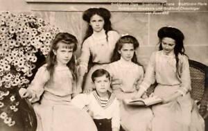 The Five Children Of Czar Nikolas II of Russia 6x4 PHOTO