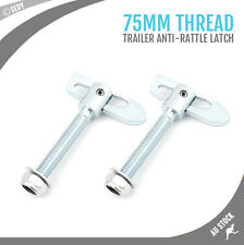 2X ANTI RATTLE LATCH LUSE GRAVITY BOLT ON LUCE FASTENER TAILGATE TRAILER TRUCK