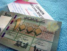 1000 LL Lebanon Bank note 2012 - 2013   LIBAN