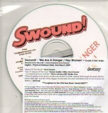 (440K) Swound!, We Are A Danger / Hey Women - DJ CD