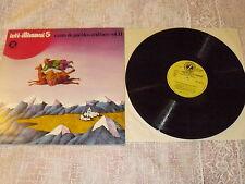 """INTI-ILLIMANI """"5 CANTO DE PUEBLOS ANDINO II"""" LP DISCHI DELLO ZODIACO Ita 1976"""