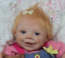 "Ginny is back !!! Reborn Doll Kit ""Ginny"", sculpted by Elisabeth Steger"