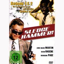Sledge Hammer , 1. und 2. Staffel uncut auf 4 DVDs , NEU und verschweißt !