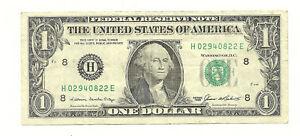 Very Scarce $1 85 HE Block, VF