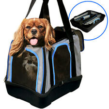 New listing Pop Up Pet Carrier Dog Carrying Crate Cat Travel Bag with Reinforced Eva bottom