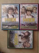 Coffret Lot 3 DVD Heidi Le Retour + A La Montagne + A Francfort / Les Films
