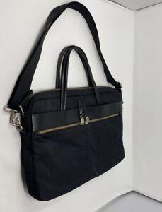 "Knomo 14""Hanover Slim Laptop Bag, Black"
