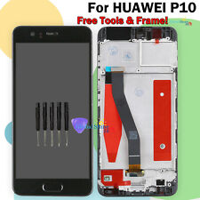Display Black For Huawei P10 VTR-L09 L29 LCD Touch Screen Frame Replacement UK