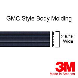 GMC Yukon Sierra Suburban Pickup Truck BLACK Side Body Trim Molding By Brickyard