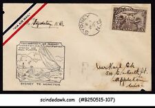 CANADA - 1929 1st MARITIME AIR PAGEANT AIR MAIL SYDNEY to MONOTON - FFC