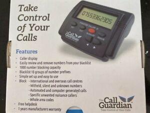 1x Phone Landline Call Blocker Stop Frauds Telemarketing Calls Blacklist