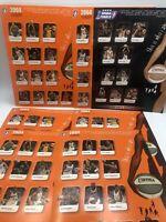 2004 WNBA COLLECTORS EDITION GAME PROGRAM CARD Lot Of 7 Cards (tons Pics)