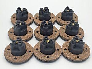 NEMA  L415 Socket Standard with Cork Gasket 240V 10A NO studs x9