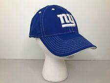 Reebok Nfl Team Apparel New York Ny Giants Football Hat Cap Size L/Xlfitted Blue