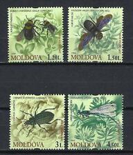 Moldavie 2009 insectes Yvert n° 573 à 576 neuf ** 1er choix