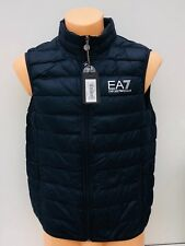EMPORIO ARMANI EA7 Night Blue Ultra Lightweight Gilet Sizes M L XL XXL XXXL BNWT