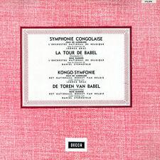 MIDDELEER Kongo-Symfonie BARBIER Le Tour de Babel STERNEFELD Decca 173374