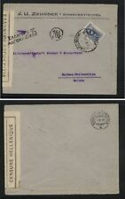 Greece  nice  neat clean censor cover  to  Switzerland   1919           MS0111