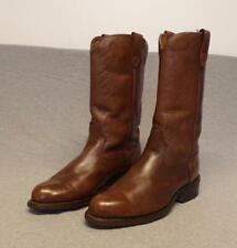 Vintage Acme Western Cowboy Bear Foot Neoprene Cork Sole boots men's 8Ew Usa
