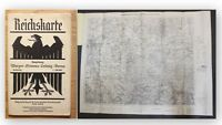 Reichskarte Umgebung Wurzen Grimma Leisnig Borna um 1930 einfarbig Sachsen  xy
