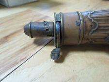 Antique Copper Gun Powder  Flask  AM Flask & Cap Co.