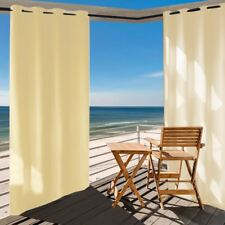 Outdoor Curtain Panel for Patio 50x84-Inch Waterproof Insulated Grommets Porch