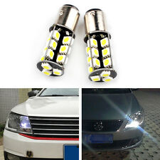 VW Caddy 27SMD LED DRL P21W Canbus Xenon White Day Time Running Light Lamp Bulbs