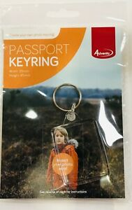 Adventa Passport Photo(35mmx45mm) Keyring / Photo Keyfob